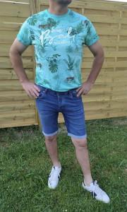 T-shirt MC Tropical homme