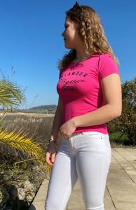 Pantalon blanc skinny femme