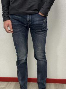 Jean slim black blue used homme