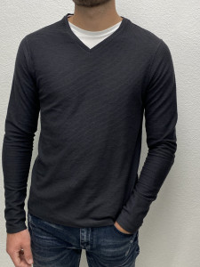 T. shirt ML charcoal homme